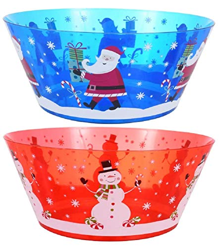 Christmas Holiday Serving Bowl (Styles Vary)