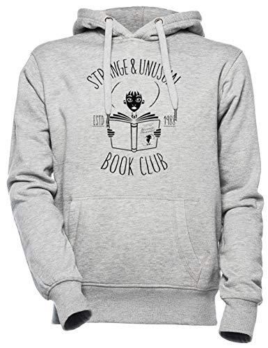 Ongebruikelijk Boek Club - Kever Sap Unisex Mannen Dames Capuchon Grijs Unisex Men's Women's Hoodie Grey