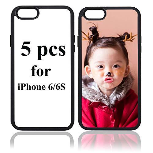 JUSTRY Lot de 5 coques de protection pour téléphone Apple iPhone 6 ...