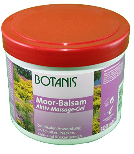 Moor-Balsam Aktiv-Massage-Gel Botanis 500ml