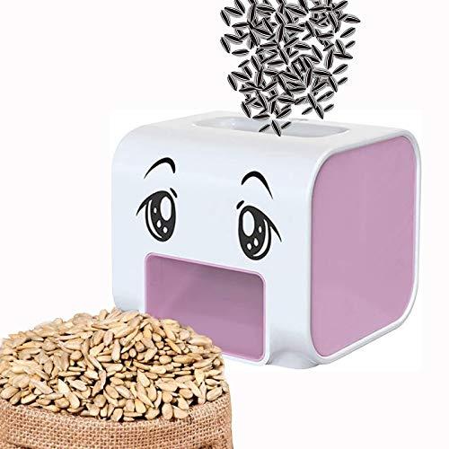 WDEF Máquina para Galletas de Semillas de Girasol, abridor de Semillas de melón, pelador automático de Semillas de Girasol, diseño Inteligente Anti-pellizco (Rosa)
