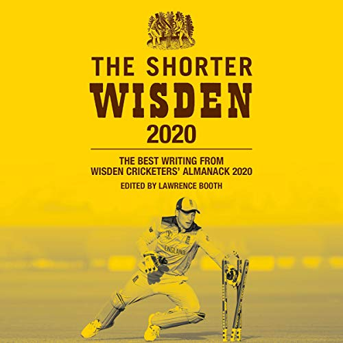 The Shorter Wisden 2020 audiobook cover art