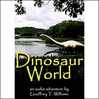 Dinosaur World audiobook cover art