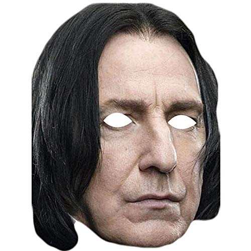 Lord Fox Alan Rickman Severus Snape Harry Potter Gesichtsmaske