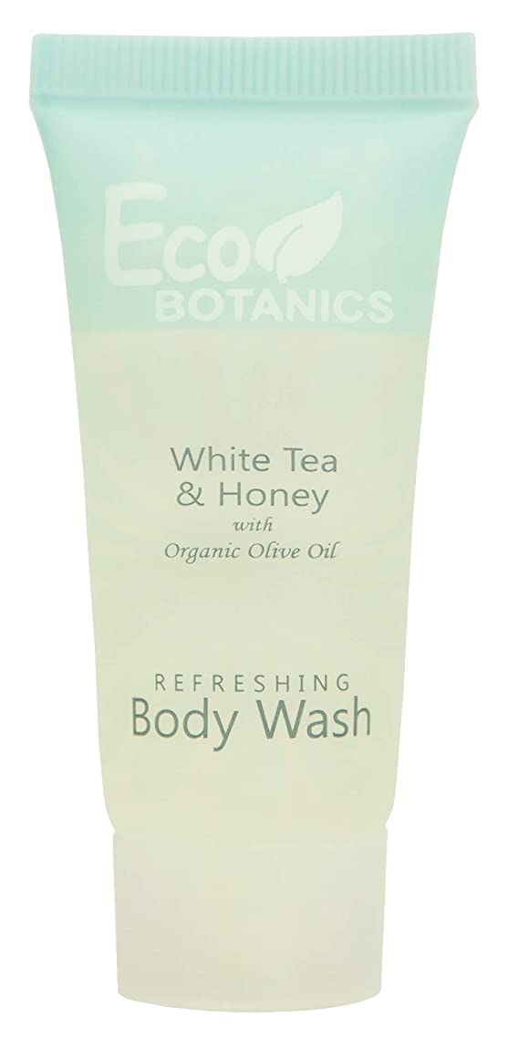 Eco Botanics Travel-Size Hotel Body Wash Soap, 0.85 oz. (Case of 300)