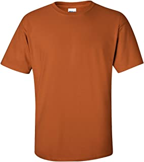 Mens Ultra Cotton 100% Cotton T-Shirt, Texas Orange