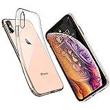ORANGA iPhone Xs ケース クリア iPhone X カバー TPU 高透明 ワイヤレス充電対応 超薄型 カメ……