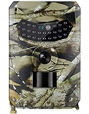 Cabilock Mini Trail Game Camera 12Mp 1080P Hd Game Camera Waterdicht Wildlife Scouting Jacht Cam Geen Batterij