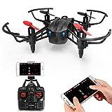 Metakoo RC Drone con Wifi FPV Telecamera HD, Struttura Permeabile al Vento,...