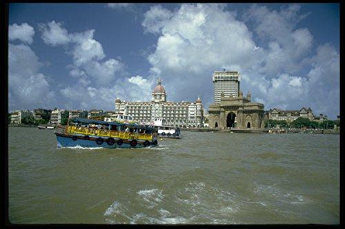 595020 Taj Mahal Hotel En De Poort Van India Bombay A4 Photo Poster Print 10x8
