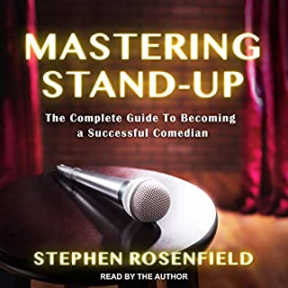 Mastering Stand-Up audiobook cover art