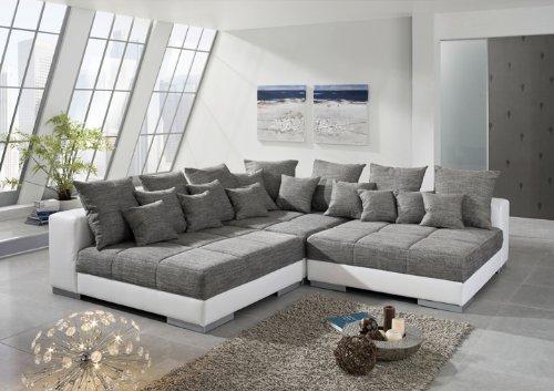 Wolf Möbel Ecksofa Titanic, Sofaecke, Eckgarnitur, Sofa, Garnitur, Big-Sofa, Couch