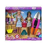 Barbie Pink Passport 2 Doll Pack Camping Adventure Dolls Gift Set