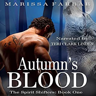 Autumn's Blood audiobook cover art