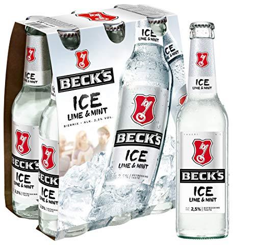 Beck's Ice Lime & Mint Biermischgetränk MEHRWEG (6 x 0.33 l)