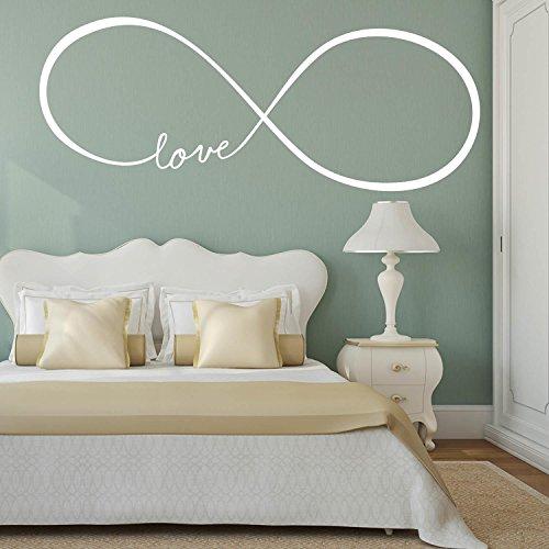 Adesiviamo Love Infinity - Wandtattoos Vinyl Wall Stickers Decals
