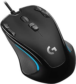 ゲーミングマウス Logicool ロジクール G300Sr ブラック 左右対称 プログラムボタン9個 高精度dpi  国内正規品 2年間メーカー保証