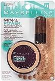 Maybelline New York Mineral Power Powder Foundation, Honey Beige, Medium 4, 0.28 Ounce