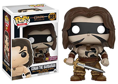 Funko Pop! Conan The Barbarian (War Paint Version) Vinyl Figure Vinyl Figure