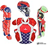 All-Star Intermediate System7 Axis USA Pro Catchers Set Red/White/Blue