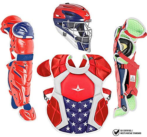 All-Star CKCC1216S7X-USAUSA S7 AXIS Catching Kit/Ages 12-16 USA