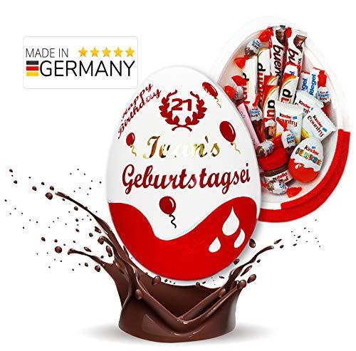 Schokofreunde Geschenke | Kinderschokolade Geschenk | personalisiertes Überraschungspaket mit Name | Geburtstagsgeschenke für Frauen, Männer, Mädchen, Jungs