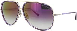 Dita Condor Two 21010-C-PUR-GLD-62 Sunglasses, Purple Gold, 62mm