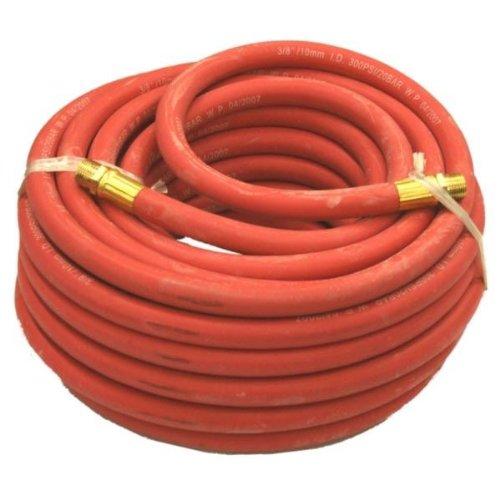Tuyau À Air (Rubber) 9.6 cm Id 15m (50ft) (9.6 cm Bsp Connecteurs) - 1 Pack/S