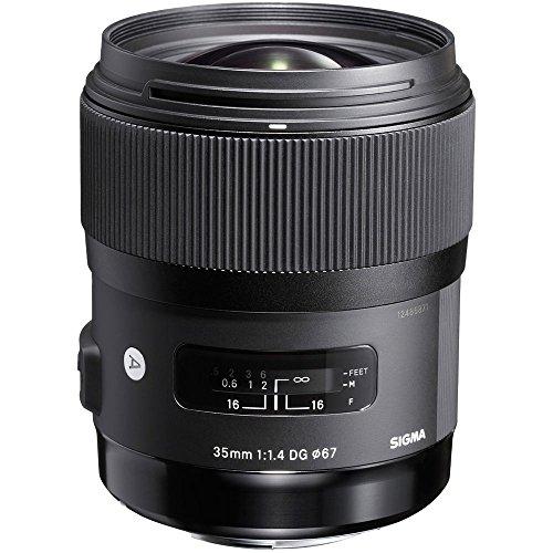 Sigma 35mm F1,4 DG HSM Art Objektiv (67mm Filtergewinde) für Sony-E Objektivbajonett