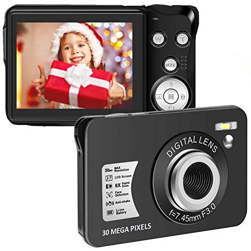 Vlogging Camera 24MP Ultra HD 2.7K WiFi YouTube Camera 3.0 Inch Flip Screen
