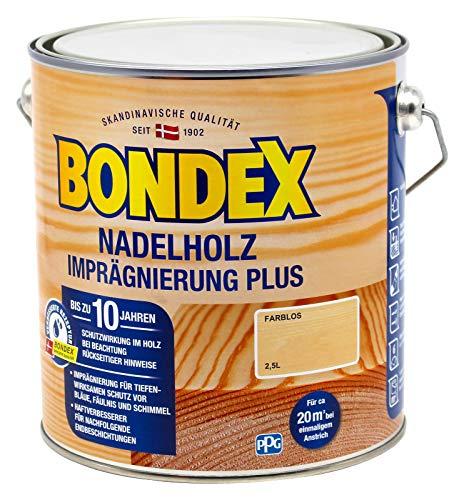 Bondex Nadelholz Imprägnierung Farblos 4,00 l - 330912