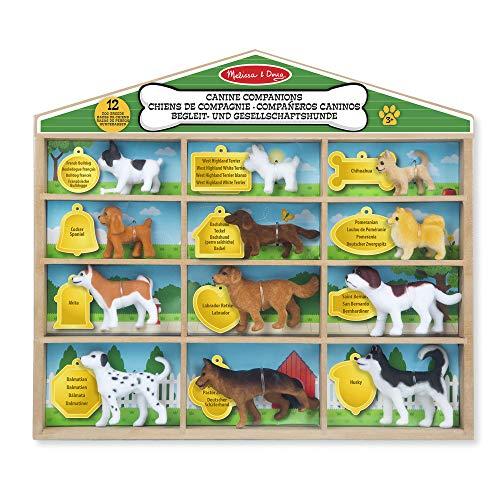 Melissa & Doug Hunde-Spielfiguren (12 Teile)