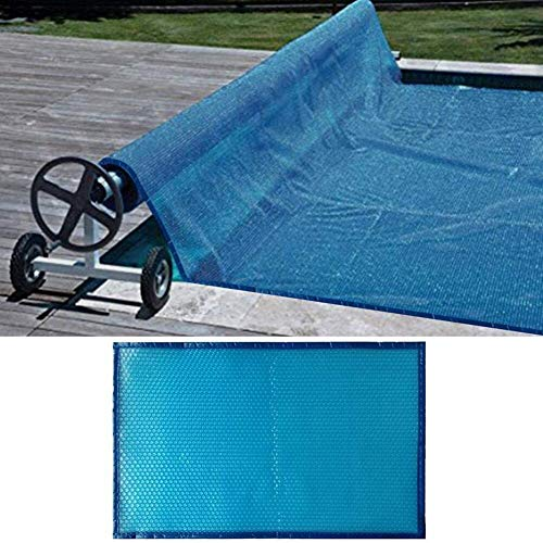 Lona alquitranada Cubierta Solar de Piscina, Cubierta de Piscina de Piscinas de Marco Protector, Cubierta de Protección Azul para Piscina, 1/1.5/2/3/4/5 m de Ancho (Size : 3m x 8m(10ft×26ft))