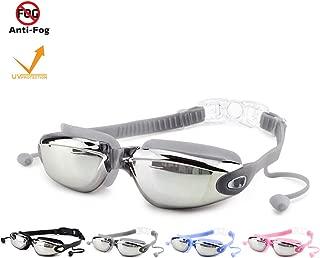 JPTACTICAL Anti-Fog Goggles Swimming Waterproof/Leakproof...