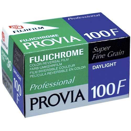Fujifilm 16326028 Provia 100F Dia-Farbfilm 135/36