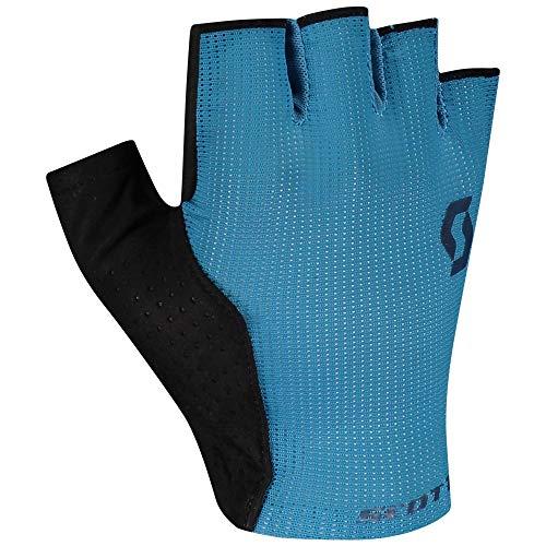 Scott Essential Gel Cycling Gloves Short Atlantic Blue/Black 2021: Size: M (9)