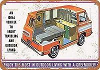 Greenbriar Custom Camper ティンサイン ポスター ン サイン プレート ブリキ看板 ホーム バーために