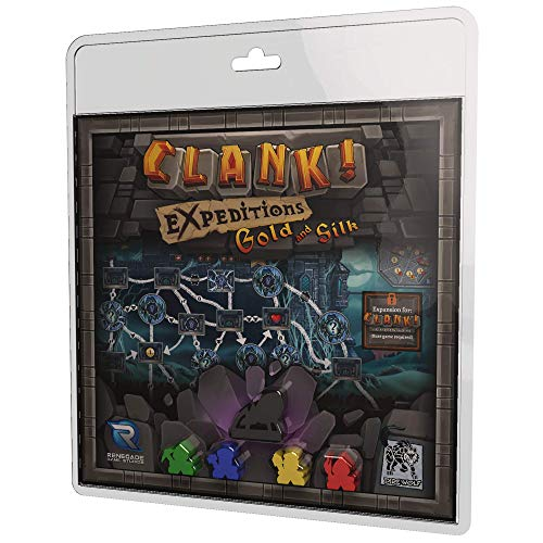 Renegade Game Studios RGS00841 Clank Expeditions: Gold & Silk, Mehrfarbig