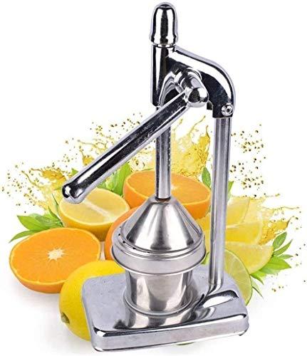 Juicer manual de acero inoxidable utiliza exprimidor de frutas / naranja / granada / limón Juicer Professional Stick Blenders para Restaurant Home Anticorrosión, fácil de limpiar, robusta y duradera X