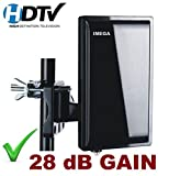 IMega SH7200 DIGITAL HDTV UHF VHF DTV OUTDOOR ANTENNA + COAXIAL CALBE +