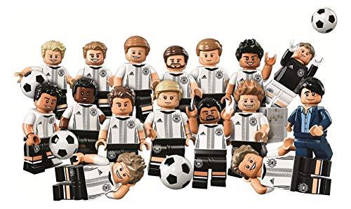 Lego 61025 mit 71014 minifiguren Display 60 Sammelfiguren Fußball DFB ungeöffnet