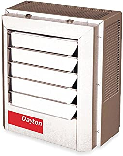 Dayton 7.5/10kW Electric Unit Heater, 1 or 3-Phase, 208/240V, 2YU69
