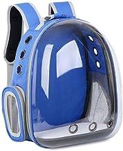 WWQQ Pet Carrier Rugzak, Space Capsule Bubble Transparante Rugzak voor katten en puppies, Ontworpen voor reizen, wandelen,...