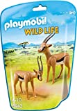 Playmobil Vida Salvaje- Gacelas Animales, Multicolor, 6 x 18 x 12,2 cm (Playmobil 6942)