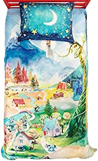 SpinTales Educational and Interactive Augmented Reality Enchanted Twin Duvet Set