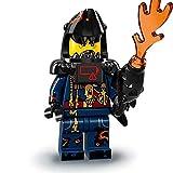 LEGO 71019 Minifigures Serie Ninjago Movie - Grande Squalo Bianco dell'Esercito degli Squali Mini Action Figure