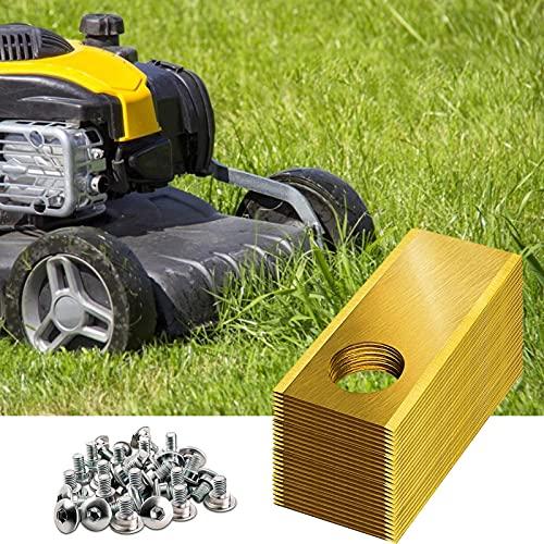 Primlisa 30er Pack Mähroboter Ersatzmesser Klingen 0.5 mm Edelstahl Entwickelt für Honda Miimo, Ersatzmesser für Rasenmäher, Zubehör für Rasenmäher Roboter, Rasenmäher Ersatzklingen