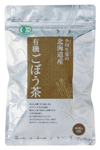 有機JAS認定 北海道産 有機ごぼう茶(ティーバッグ) 45g(1.5gx30P)  半ケース(10袋入り)