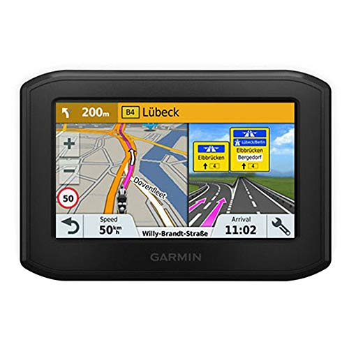 Garmin Zumo 346LMT-S Motorbike Satellite Navigation System with UK/Ireland/Western Europe Maps/Free Lifetime Map Updates and Bluetooth - Black