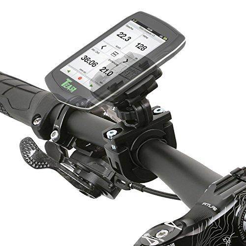 Wicked Chili Fahrradhalterung für Teasi one4 / one3 Extend / one3 / one2 / one/Core/Pro Pulse und SMAR.T Power (Sicherungsgummi/QuickFix-System/Made in Germany) schwarz, Bike Halterung
